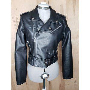 Ashley by 26 International Faux Leather Jacket L